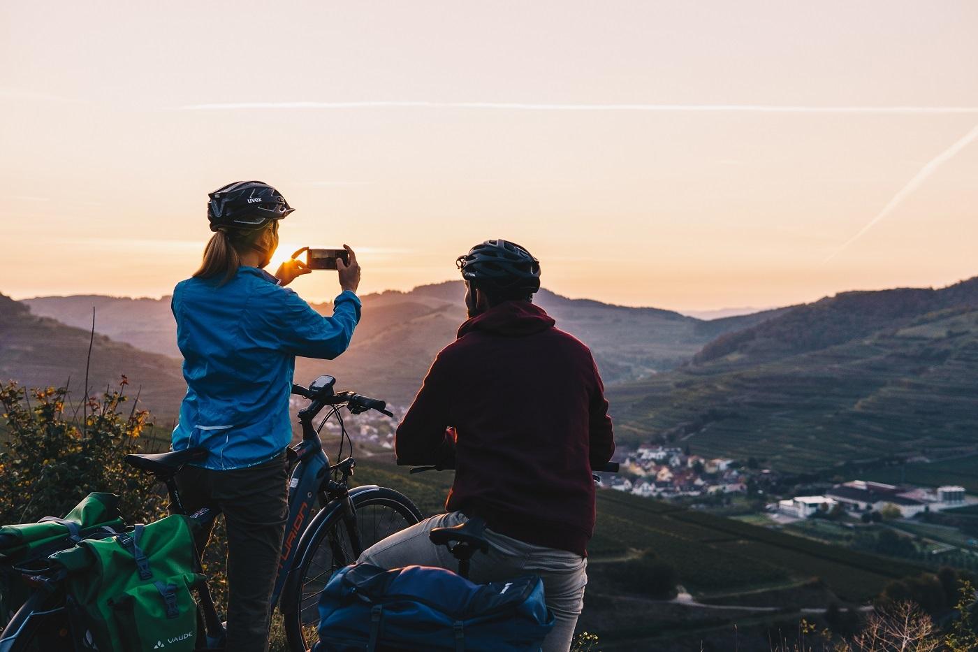 Badischer Weinradweg Sonnenaufgang